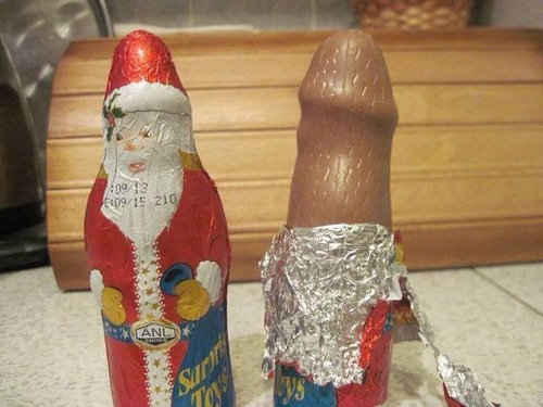 Chocolate navideño