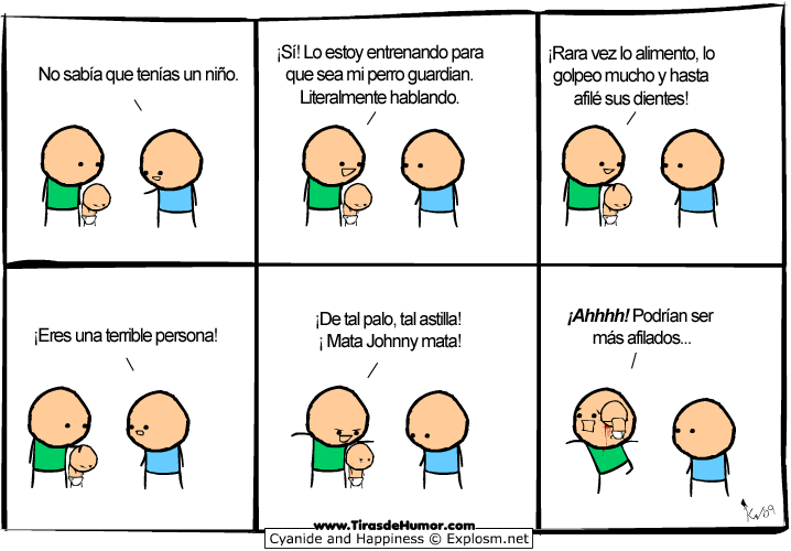 Cyanide-and-Happiness-Bebé guardián