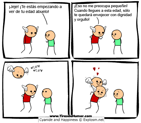 Cyanide-and-Happiness-Envejecer con dignidad y orgullo