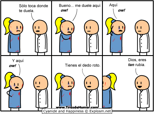 Cyanide-and-Happiness-Eres tan rubia