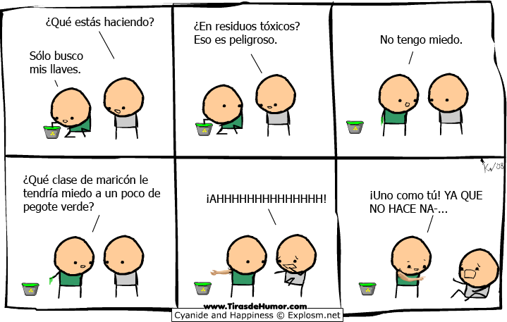 Cyanide-and-Happiness-Residuos tóxicos