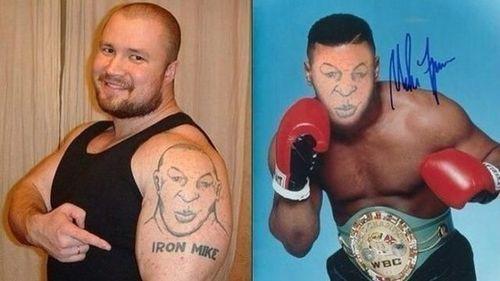 Tatuaje de Iron Mike