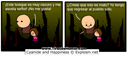 Cyanide-and-Happiness-Bosque muy oscuro