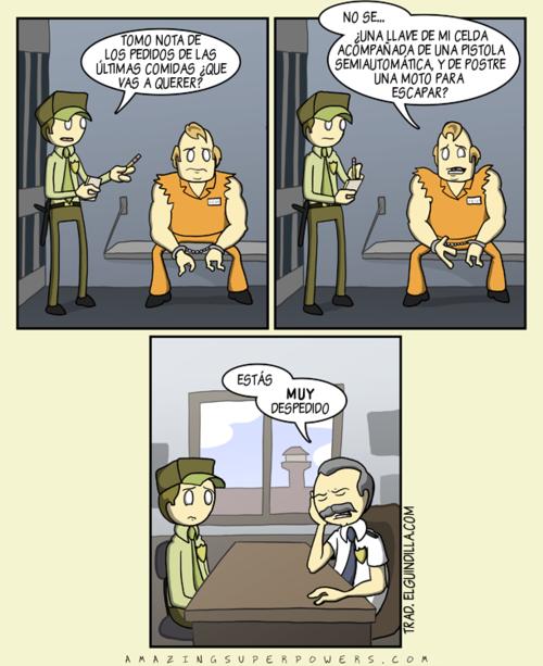 No es fácil trabajar en la cárcel