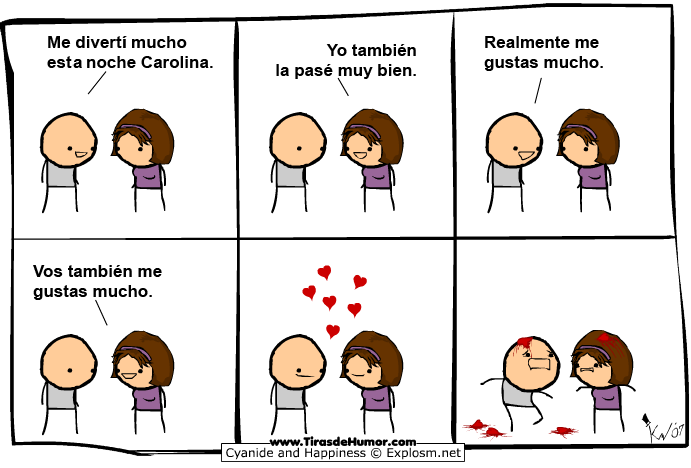 Cyanide And Happiness Me Gustas Mucho