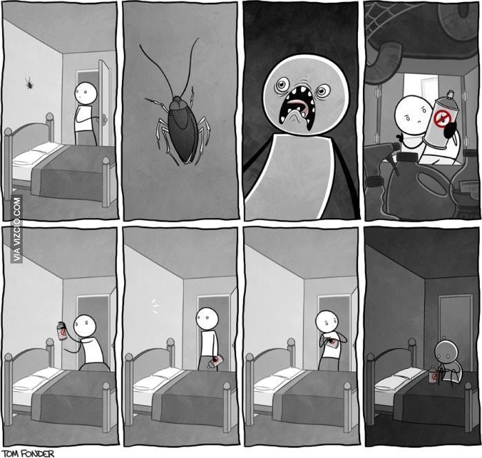 Cada vez estoy más asustando ...