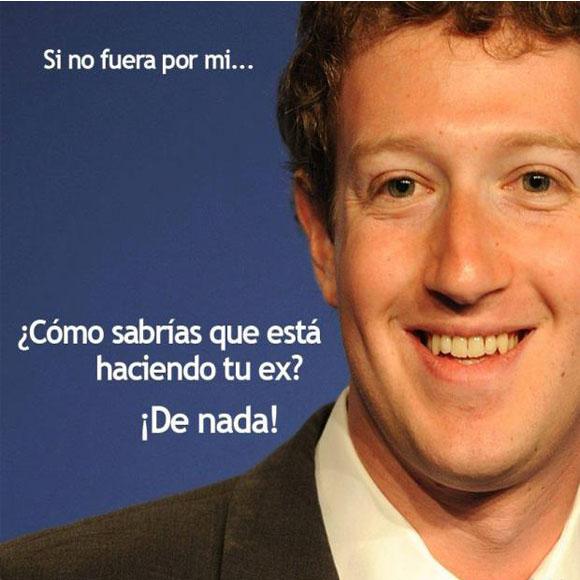Gracias Mark Zuckerberg