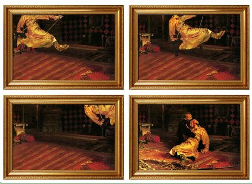 La historia que hay detrás de algunos cuadros famosos 3