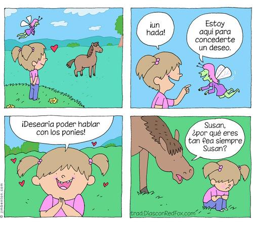 hablar con los ponies