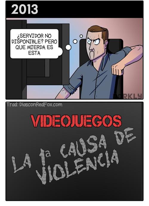 Videojuegos Causa de violencia 5