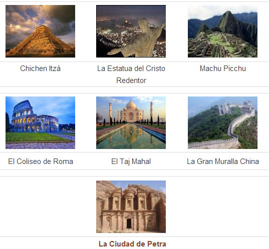7 maravillas del mundo moderno