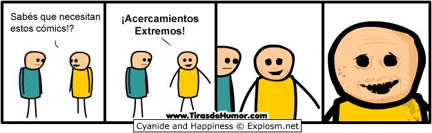 Acercamientos extremos