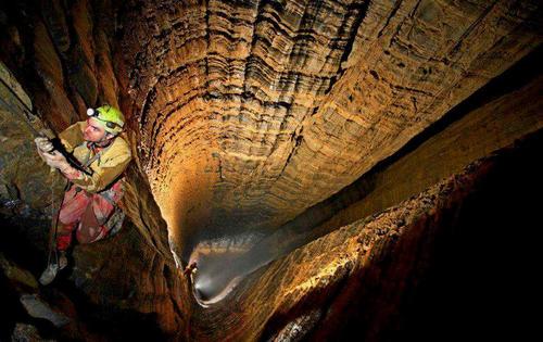 Así es el mapa de la cueva más profunda del planeta.