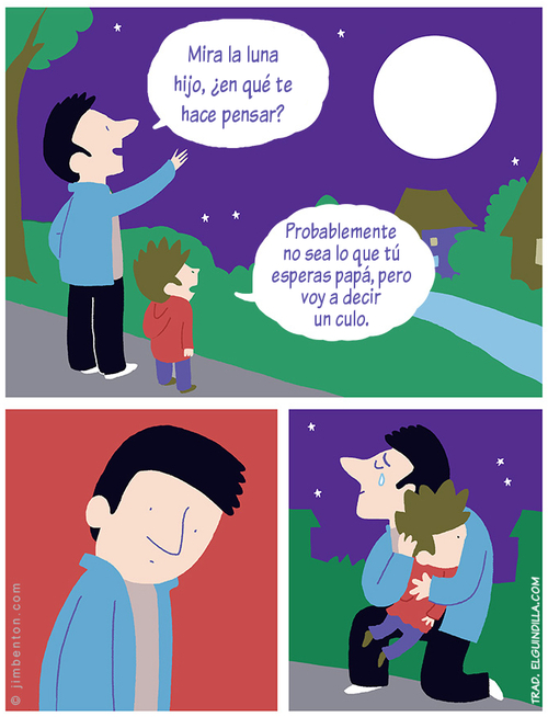 El orgullo de un padre