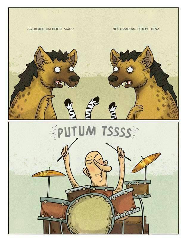 Humor entre hienas