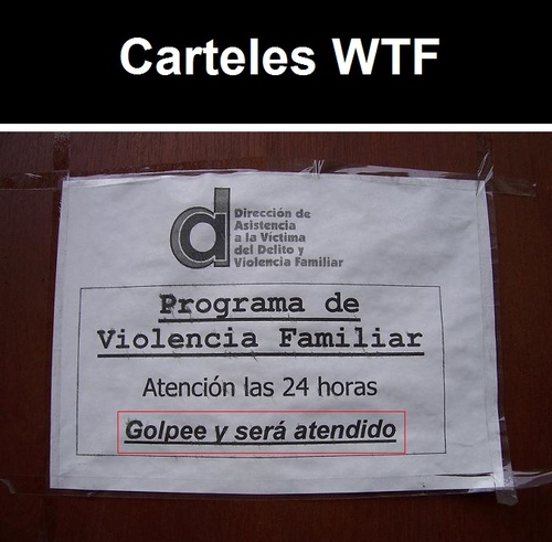 Carteles WTF 1