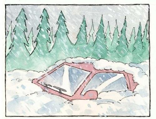 Atrapados en la nieve 1