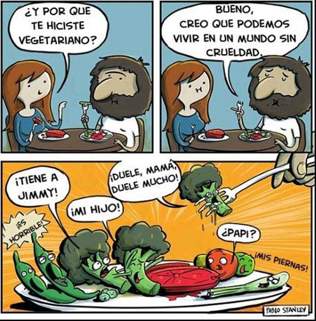 Humor Vegetarianos