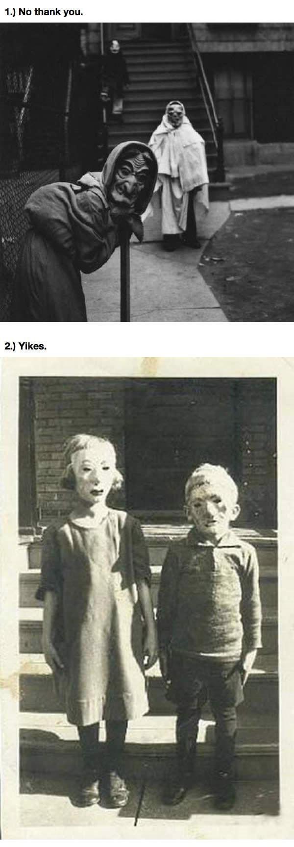 Disfraces antiguos de Halloween 1