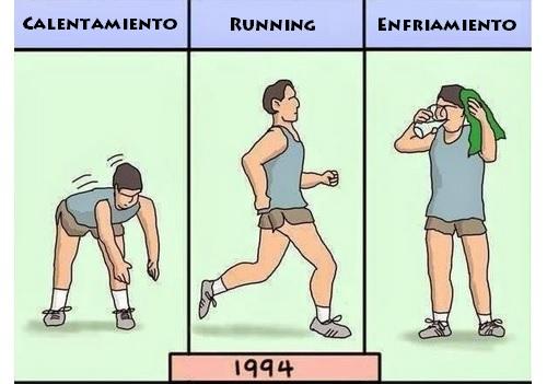 La evolución del running (1)
