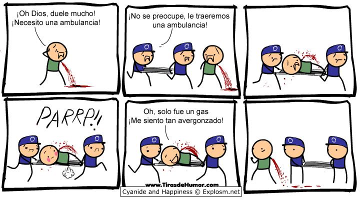 Cyanide-and-Happiness-ambulancia