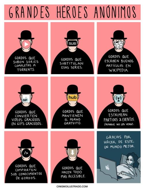 Grandes heroes anonimos